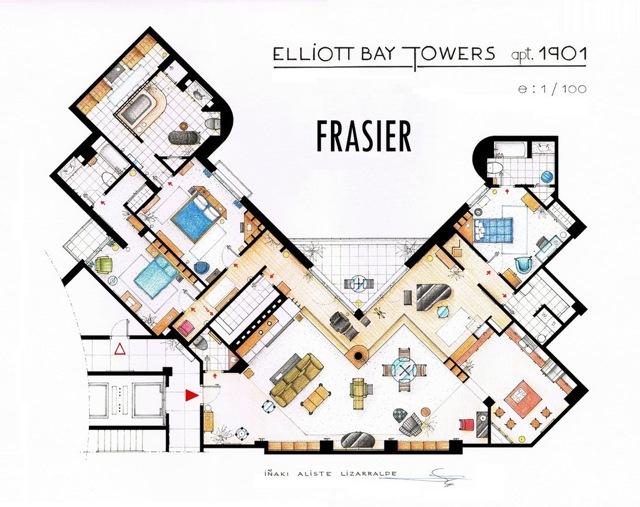 Frasier floor plans