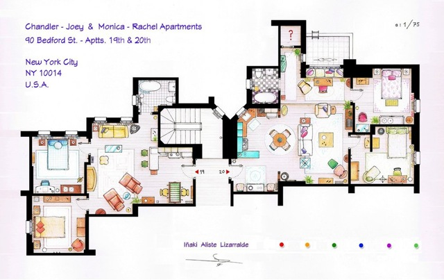 Friends floor plans