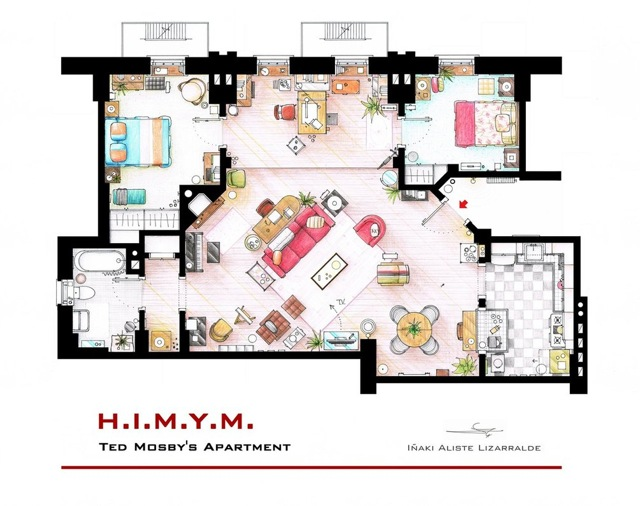 How I Met Your Mother floor plans