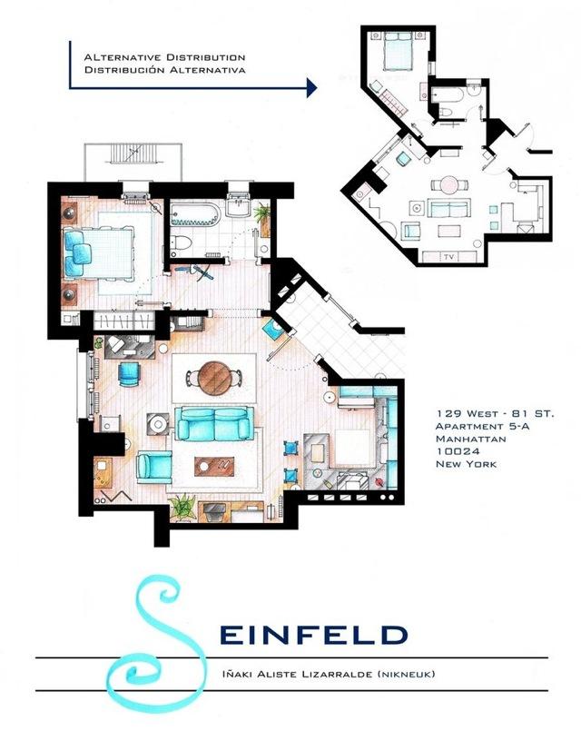 Seinfield floor plans