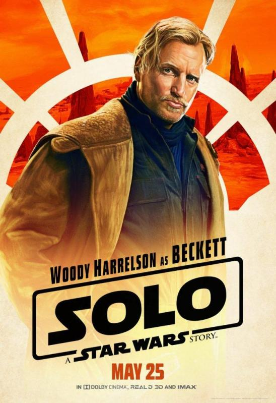 Solo character poster Beckett