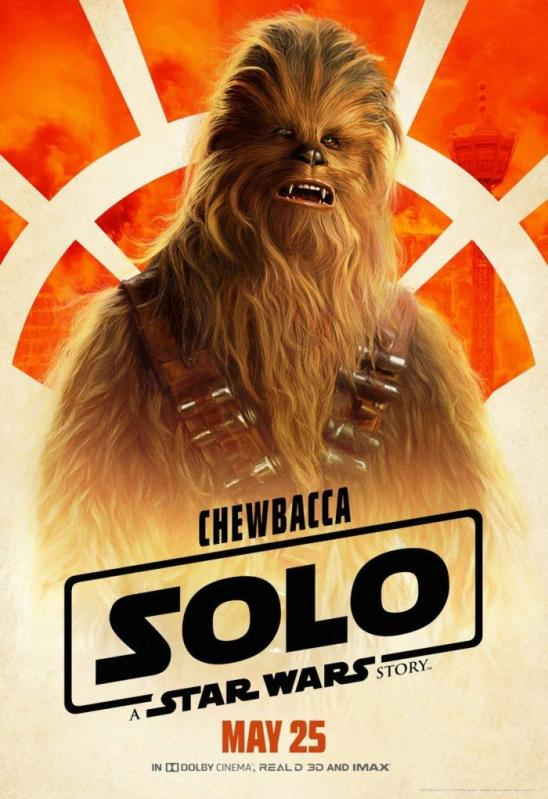 Solo character poster Chewbacca