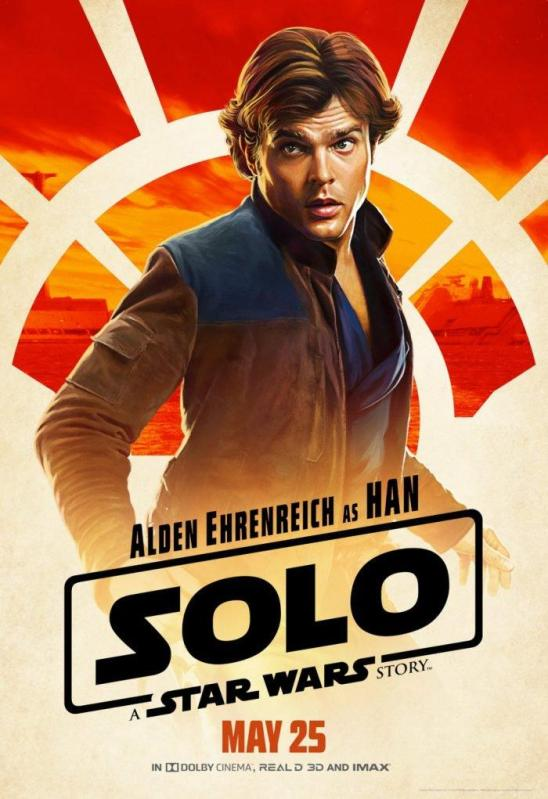 Solo Character Poster Han