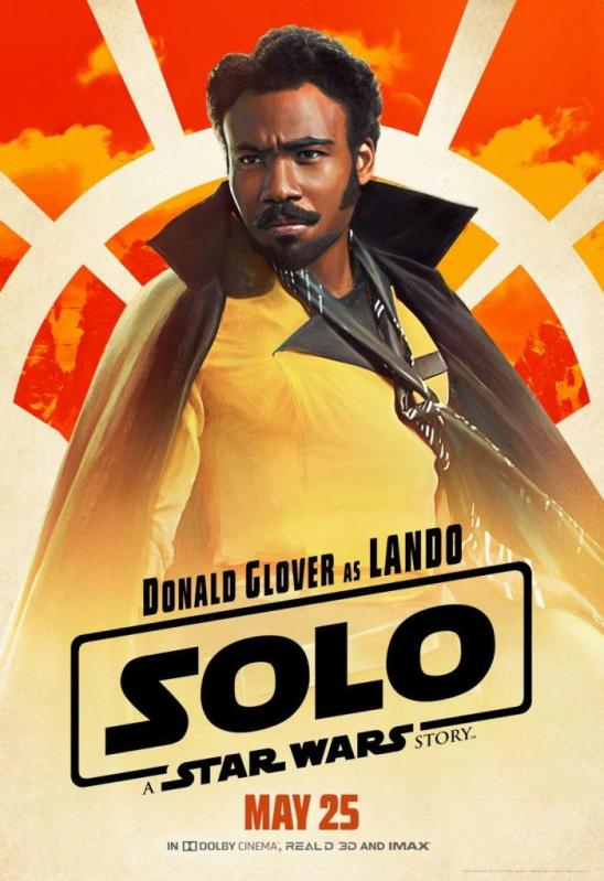Solo character poster Lando