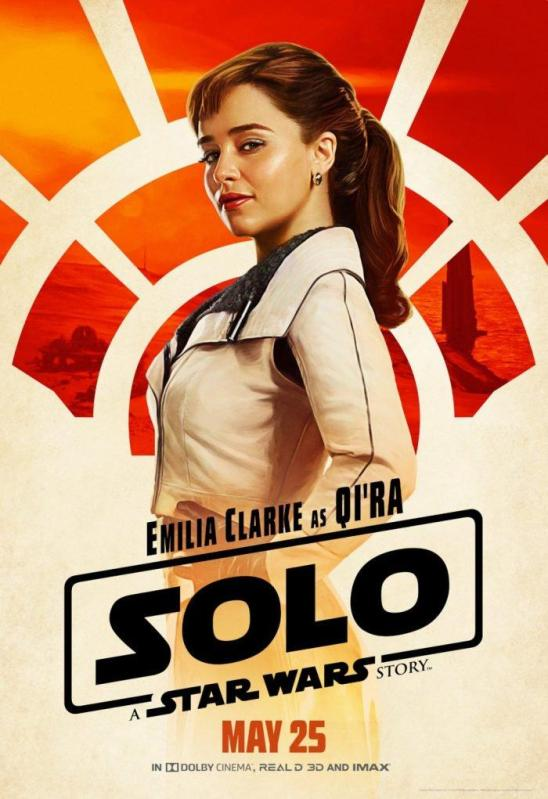 Solo Character poster Qi'Ra