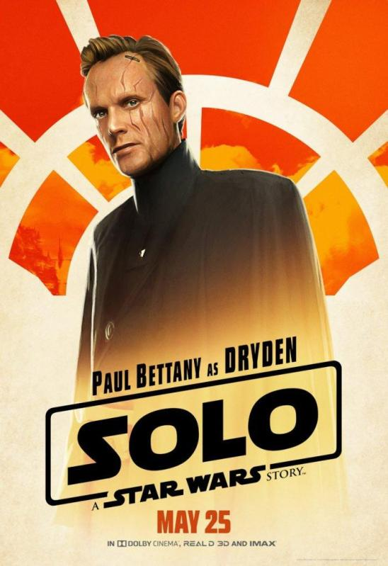 Solo Character Posters Dryden