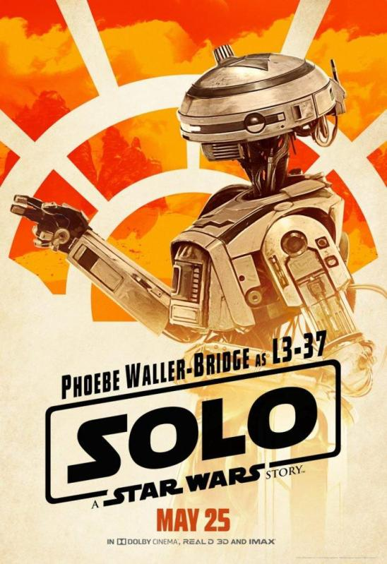 solo character posters L3