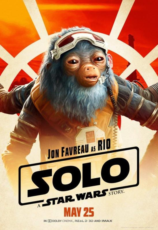 solo character posters rio