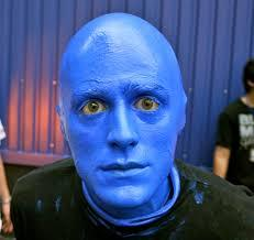 Image result for blue men